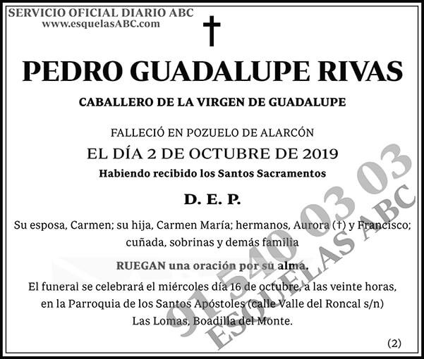 Pedro Guadalupe Rivas