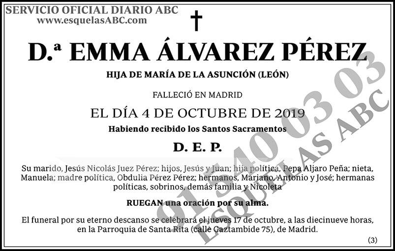 Emma Álvarez Pérez