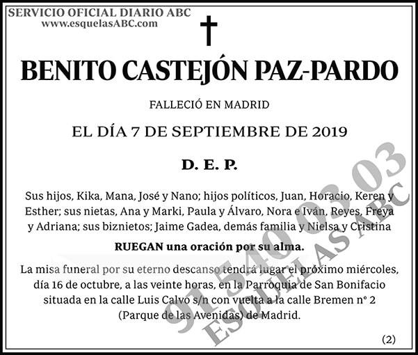 Benito Castejón Paz-Pardo