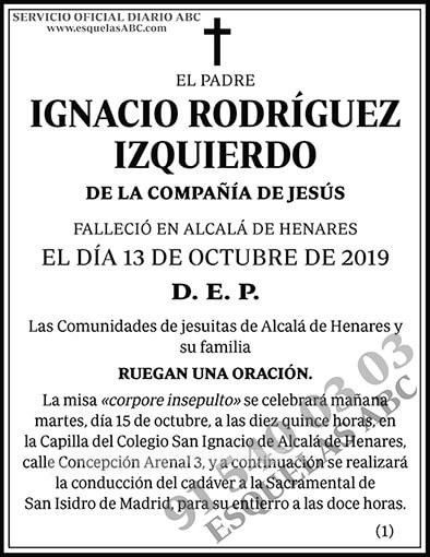 Ignacio Rodríguez Izquierdo