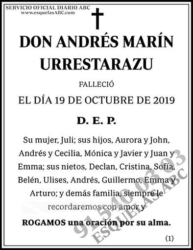 Andrés Marín Urrestarazu