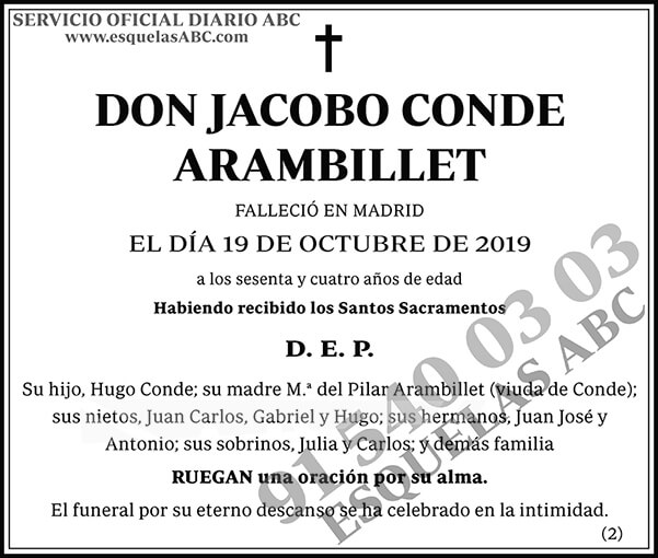 Jacobo Conde Arambillet