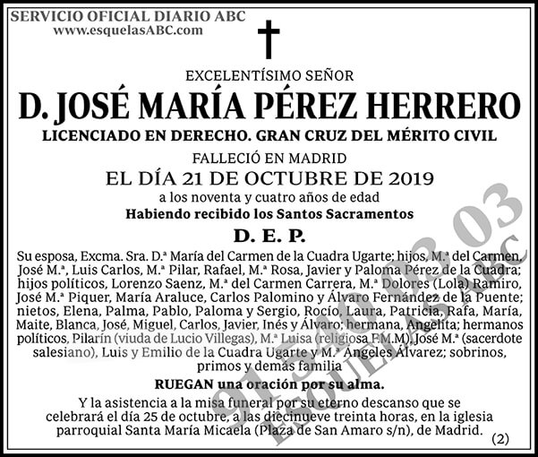 José María Pérez Herrero