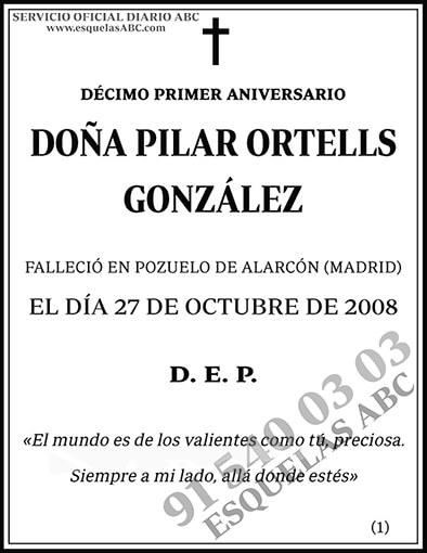 Pilar Ortells González