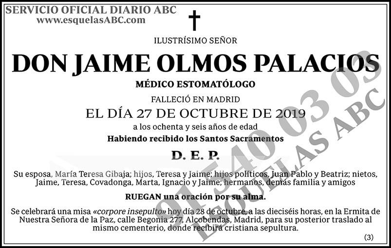 Jaime Olmos Palacios