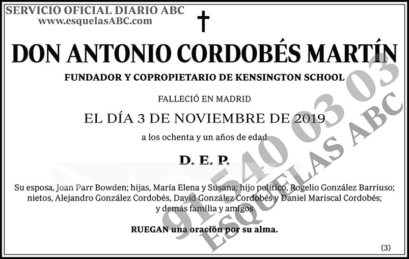 Antonio Cordobés Martín