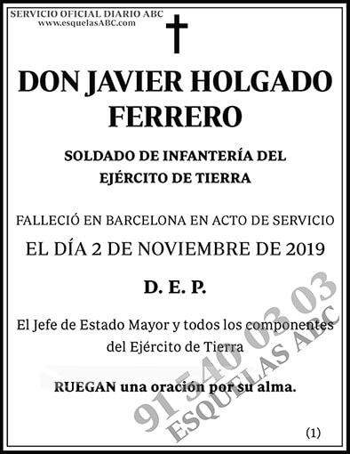 Javier Holgado Ferrero