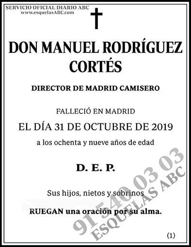 Manuel Rodríguez Cortés