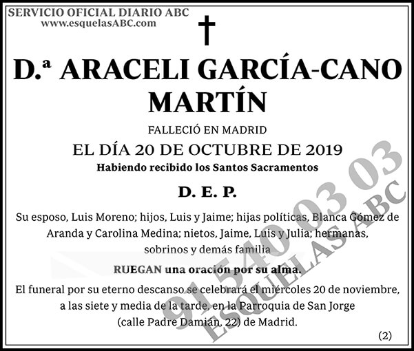 Araceli García-Cano Martín