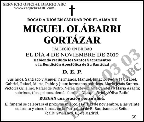Miguel Olábarri Gortázar