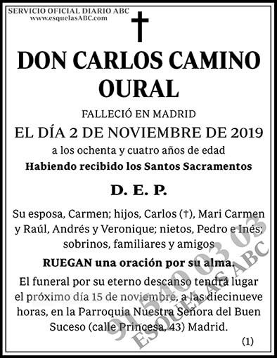 Carlos Camino Oural