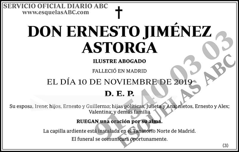 Ernesto Jiménez Astorga