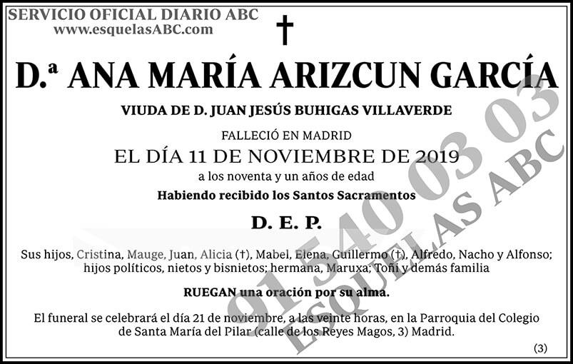 Ana María Arizcun García