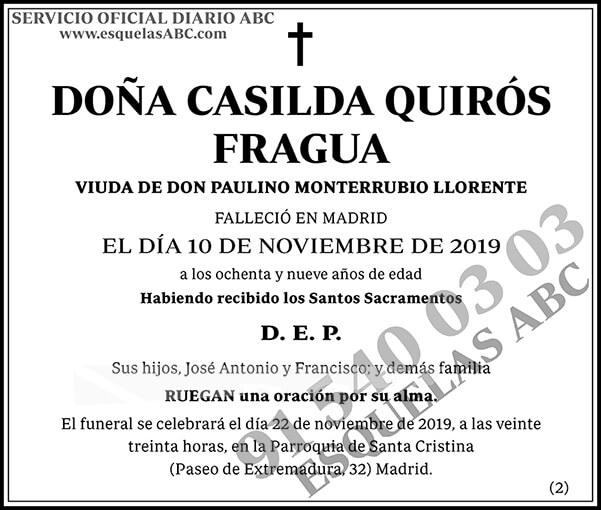 Casilda Quirós Fragua