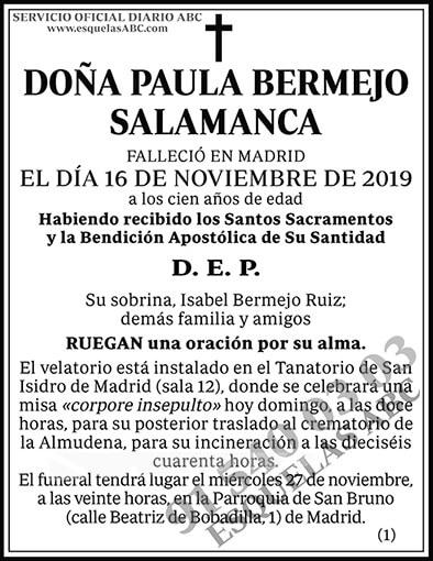 Paula Bermejo Salamanca