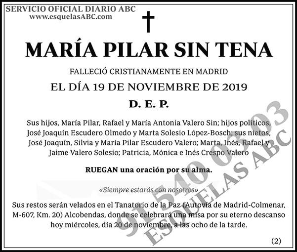 María Pilar Sin Tena
