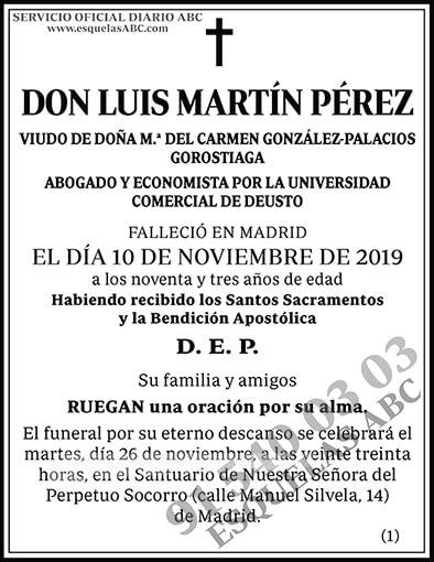 Luis Martín Pérez