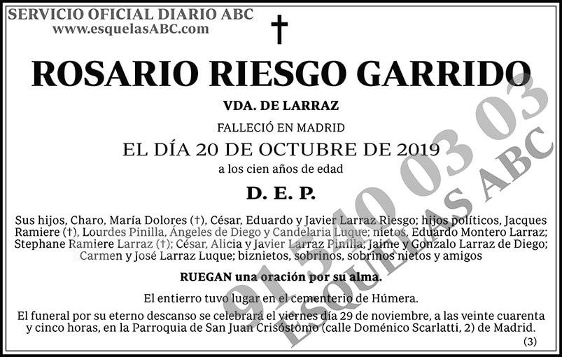 Rosario Riesgo Garrido
