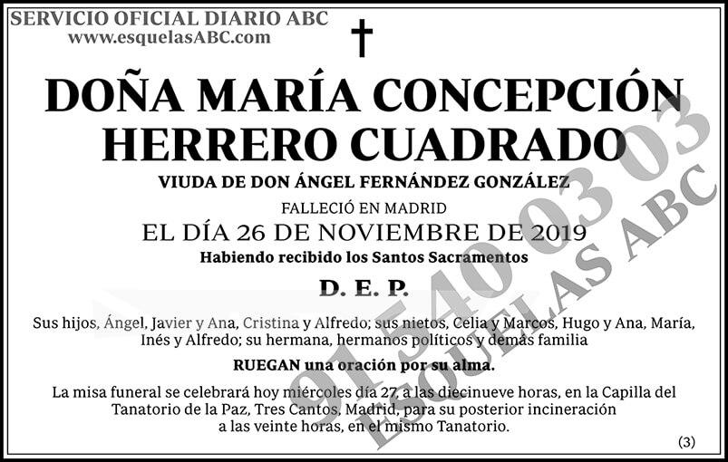 María Concepción Herrero Cuadrado