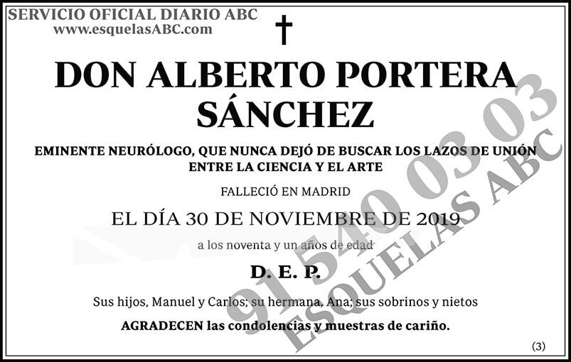 Alberto Portera Sánchez