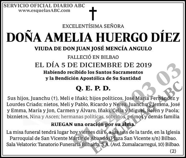 Amelia Huergo Díez
