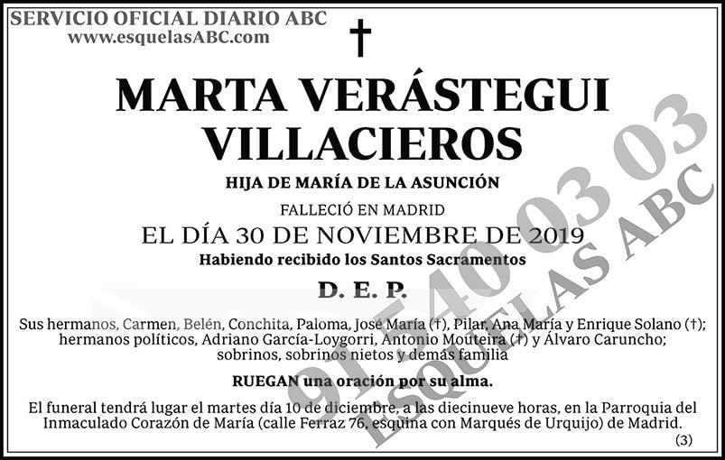 Marta Verástegui Villacieros