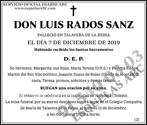 Luis Rados Sanz
