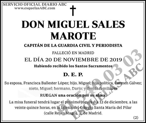 Miguel Sales Marote