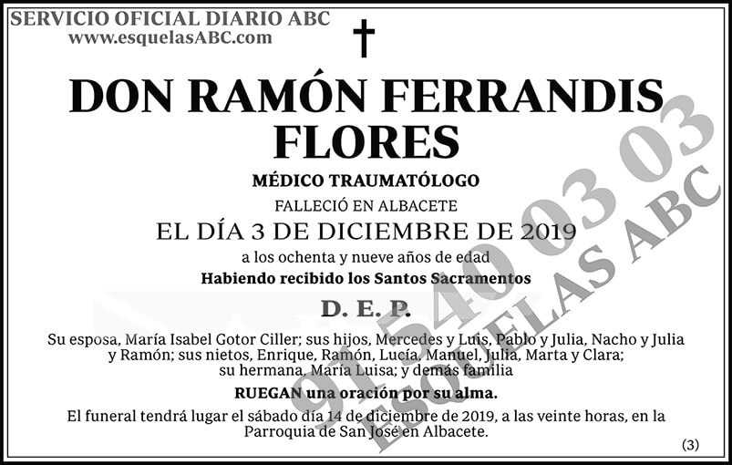 Ramón Ferrandis Flores