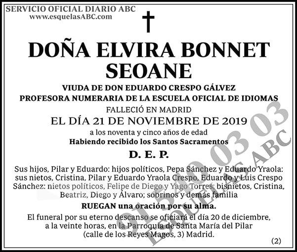 Elvira Bonnet Seoane