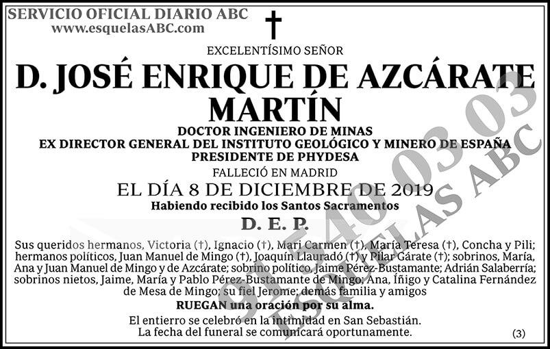 José Enrique de Azcárate Martín