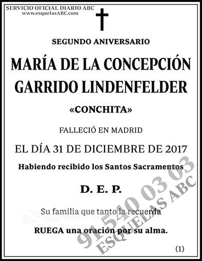 María de la Concepción Garrido Lindenfelder