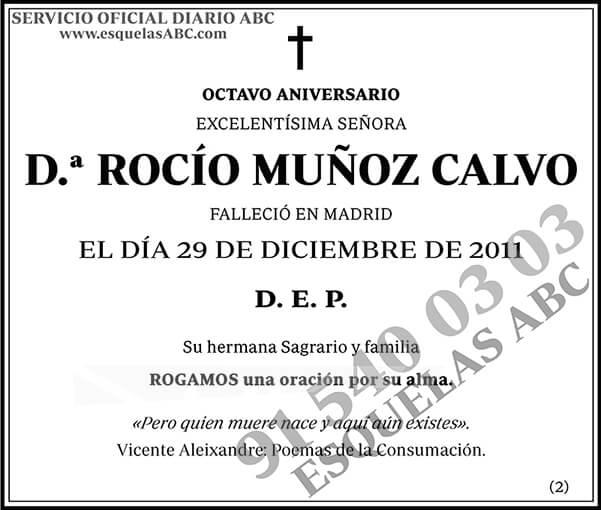 Rocío Muñoz Calvo