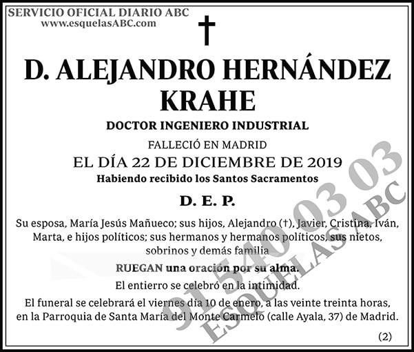 Alejandro Hernández Krahe