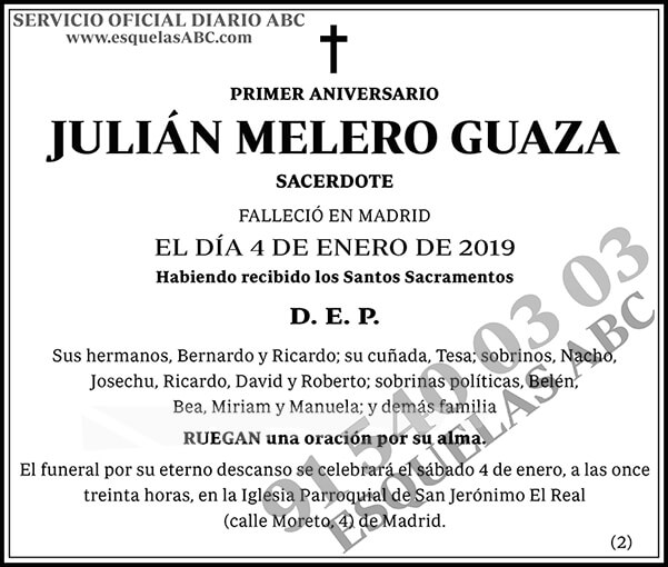 Julián Melero Guaza