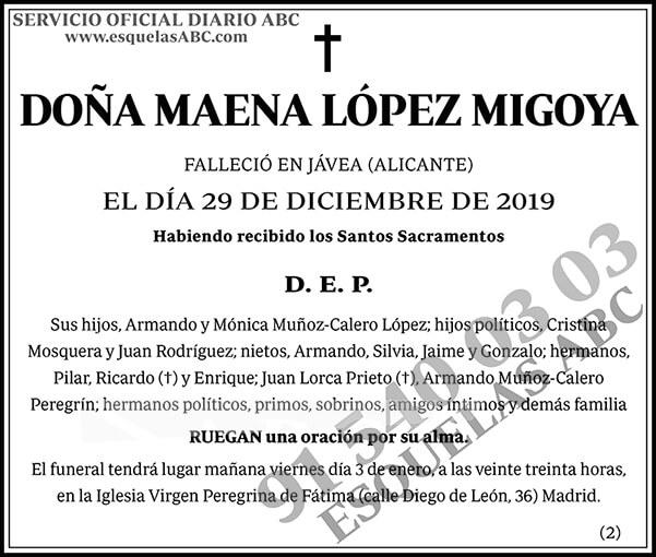 Maena López Migoya