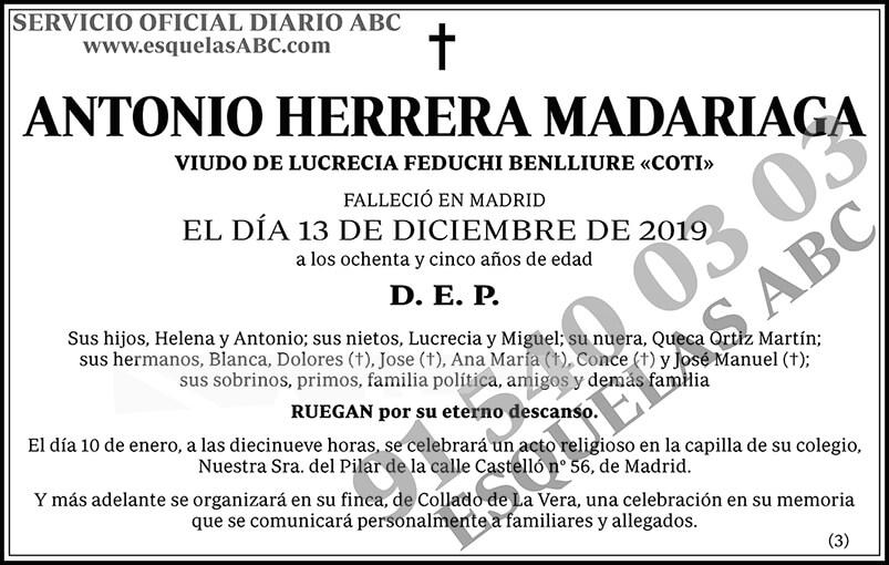 Antonio Herrera Madariaga