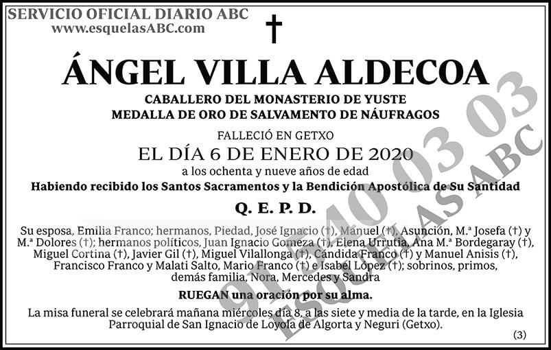 Ángel Villa Aldecoa
