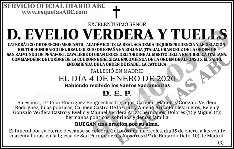 Evelio Verdera y Tuells