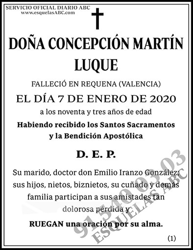 Concepción Martín Luque
