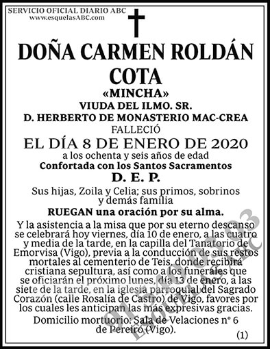 Carmen Roldán Cota