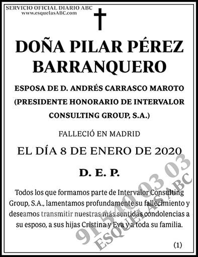 Pilar Pérez Barranquero