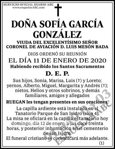 Sofía García González
