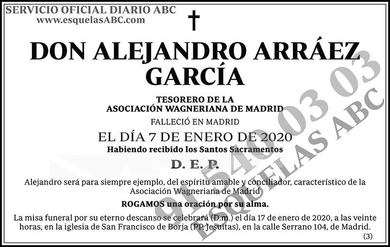 Alejandro Arráez García