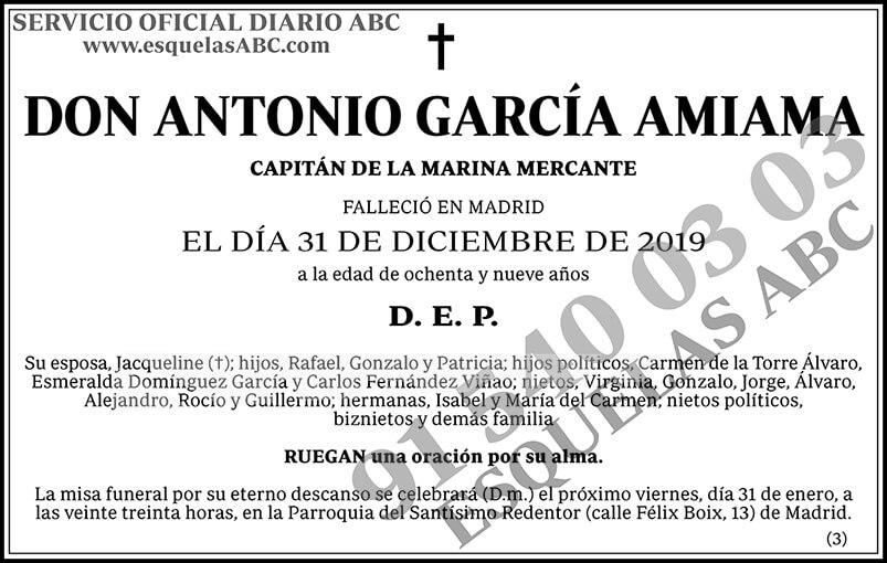 Antonio García Amiama