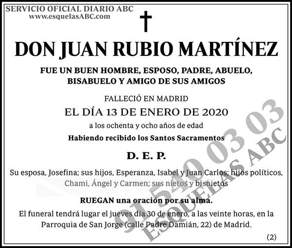 Juan Rubio Martínez