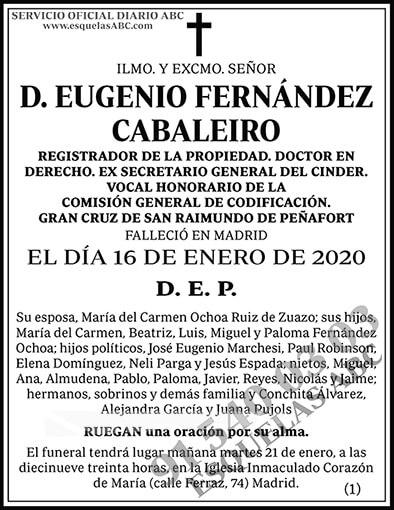 Eugenio Fernández Cabaleiro