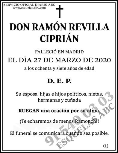 Ramón Revilla Ciprián