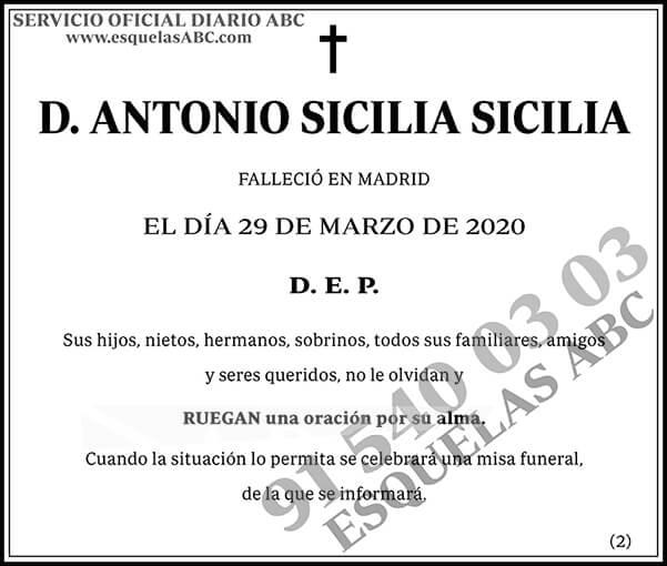 Antonio Sicilia Sicilia