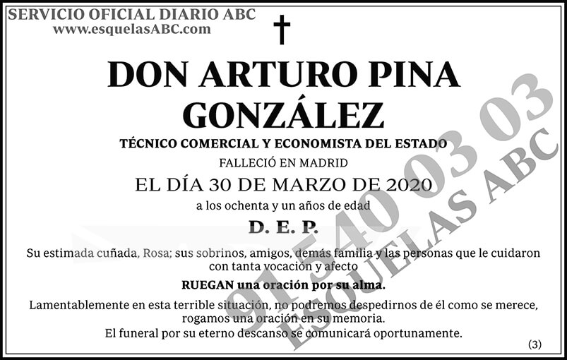 Arturo Pina González
